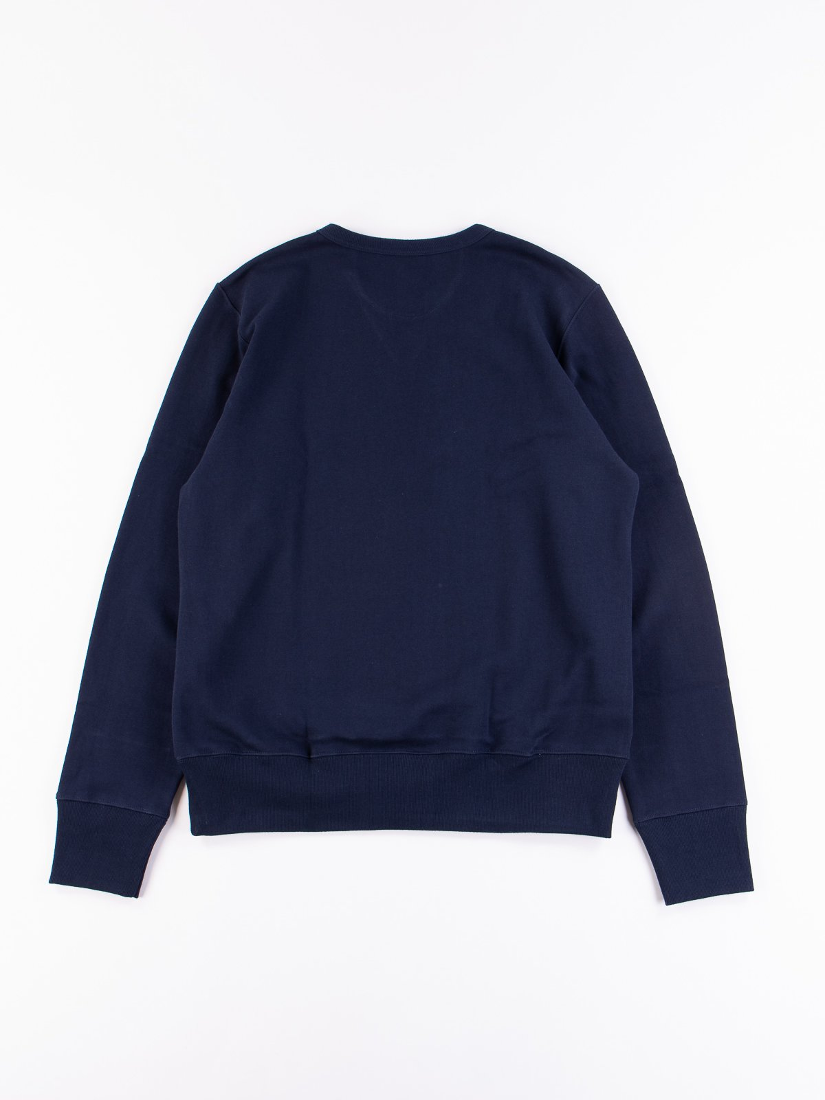 Ink Blue 3S48 Organic Cotton Heavy Sweater - Image 5