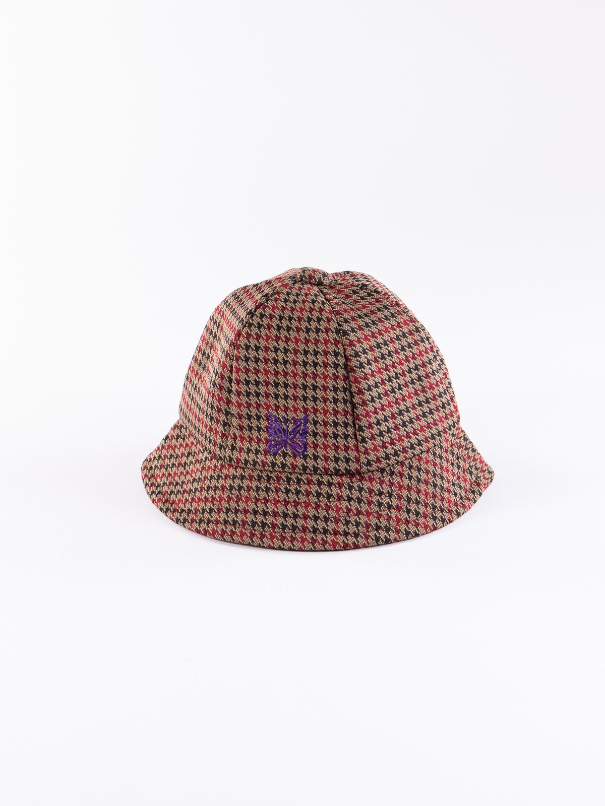 Houndstooth Poly Jacquard Bermuda Hat - Image 1