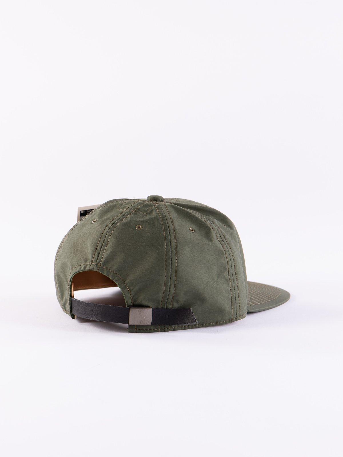 Olive Waterproof Cap - Image 2