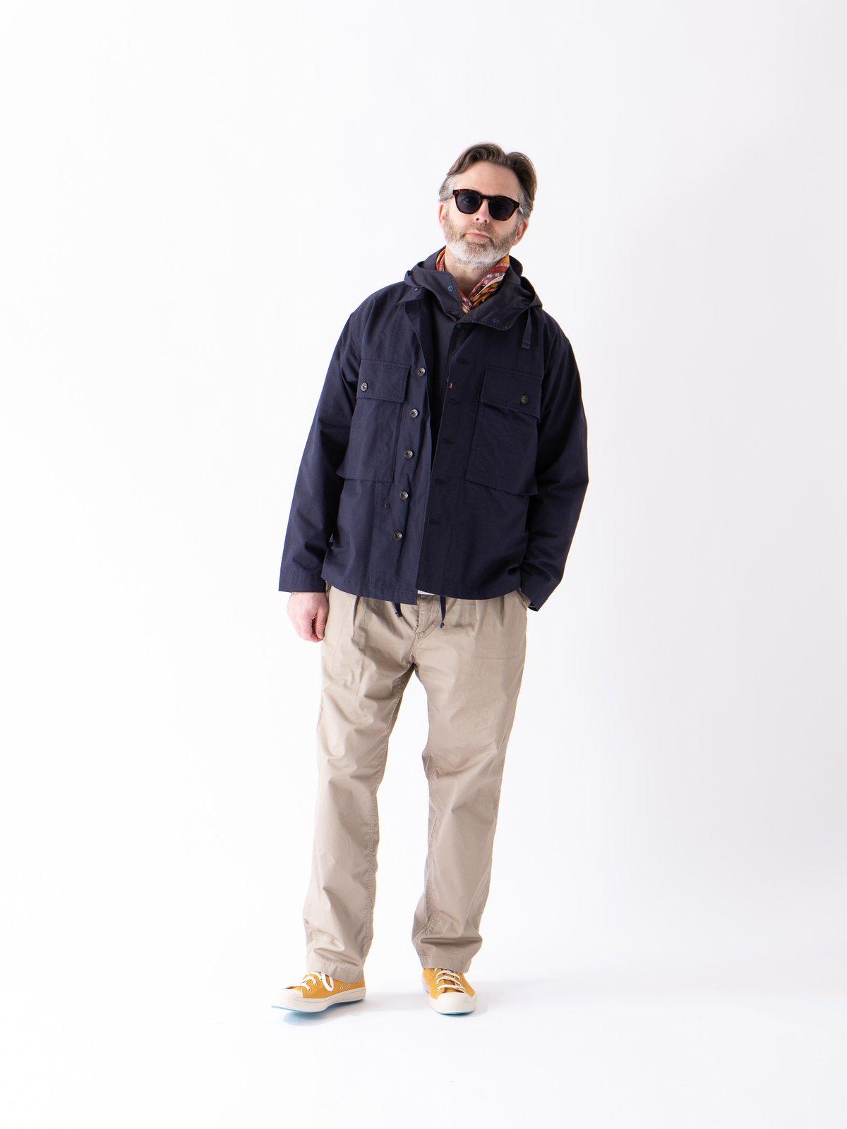Dark Navy Cotton Ripstop M43/2 Shirt Jacket - Image 2
