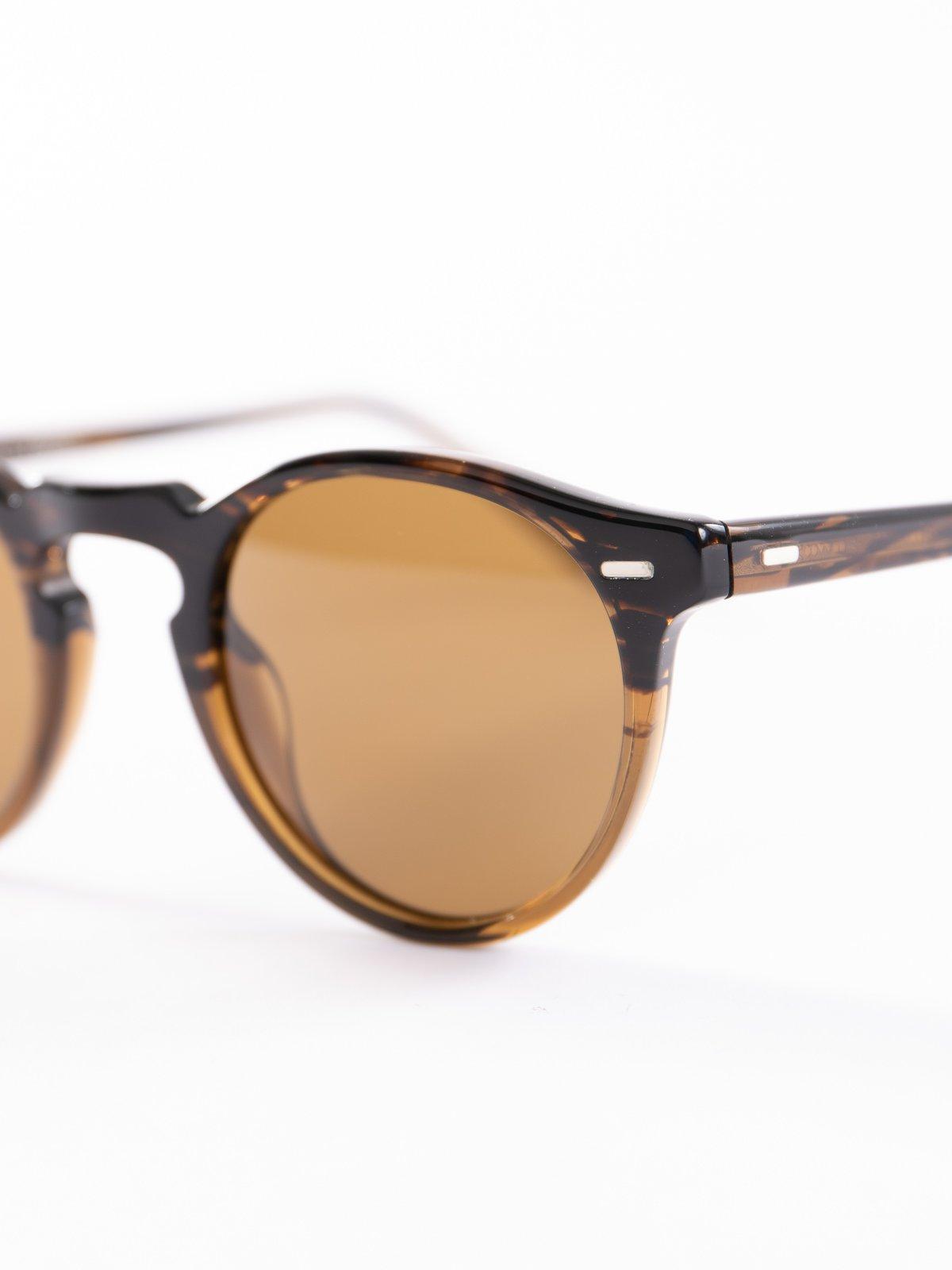 Tortoise/Brown Gregory Peck Sunglasses - Image 3