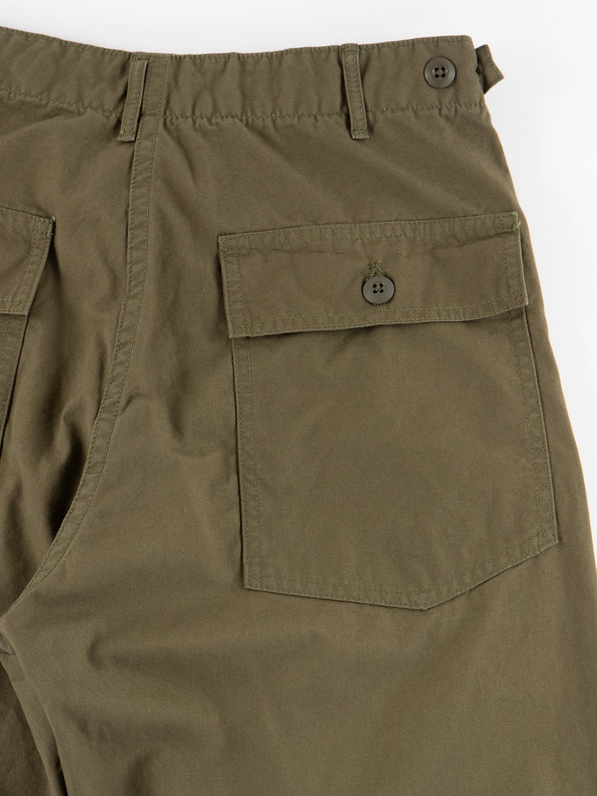 Army Green Ripstop Regular Fit US Army Fatigue Pant - Image 7