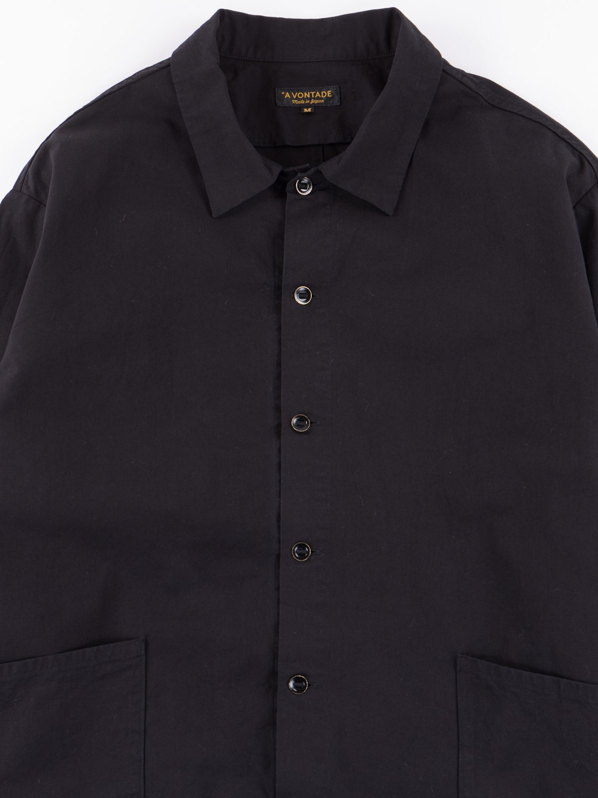 Black Gardener Shirt Jacket - Image 2