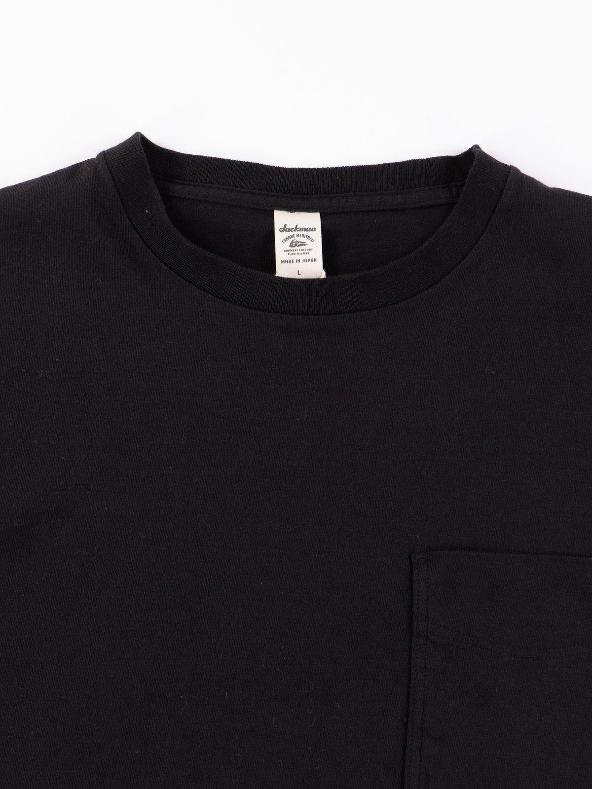 Black Pocket T–Shirt - Image 3