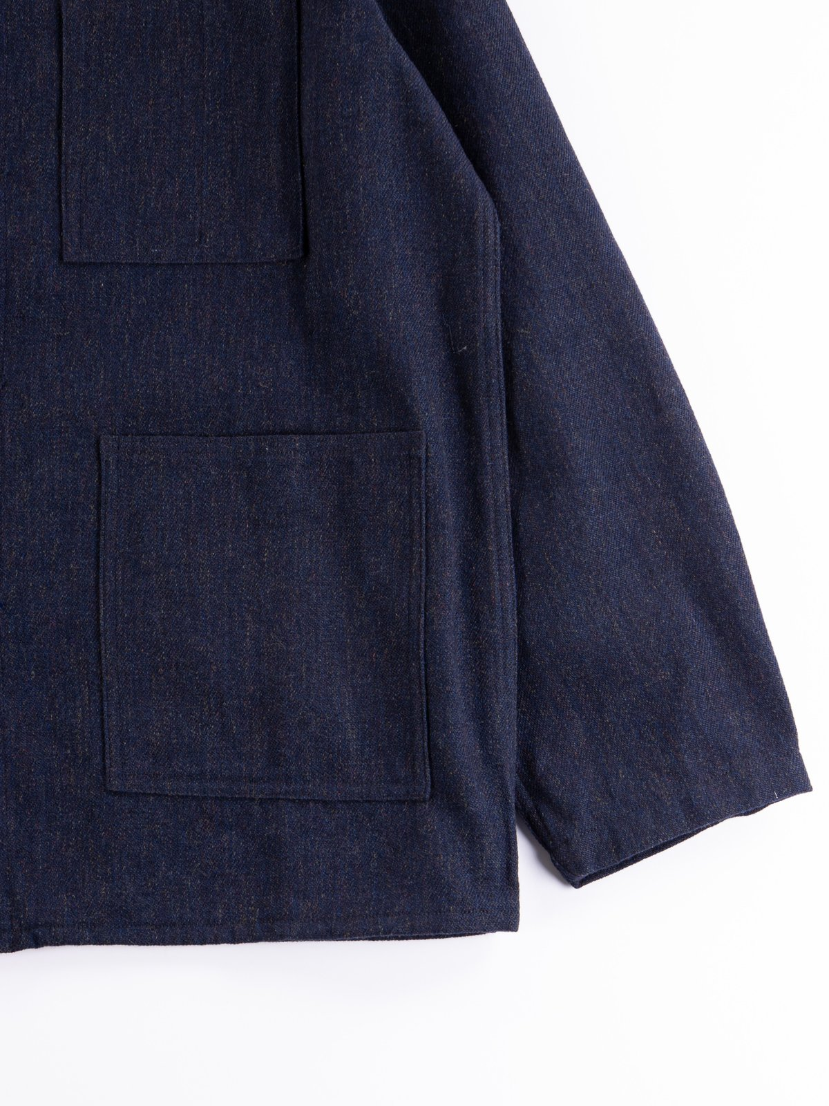 Navy Wool/Cotton Serge D.N Coverall - Image 3