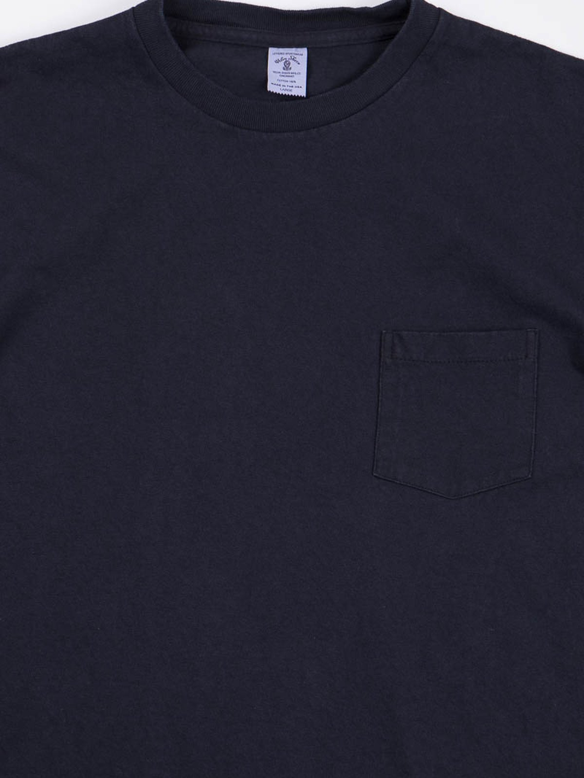 Black Indigo 1–Pac Pocket Tee - Image 3