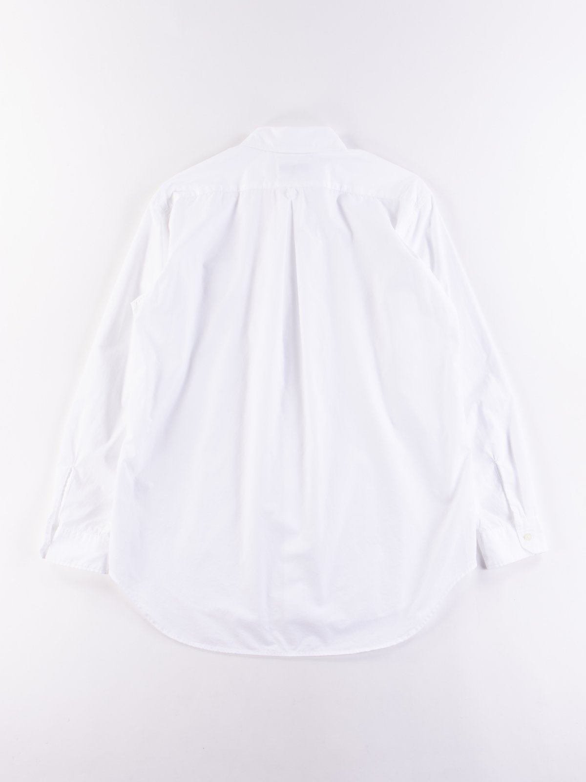 White 100's 2Ply Broadcloth Tab Collar Shirt - Image 5