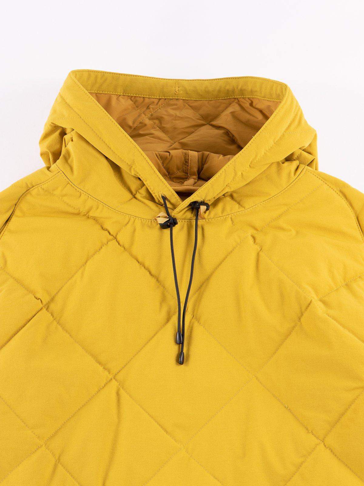 Mustard Flex Down Hoodie - Image 3
