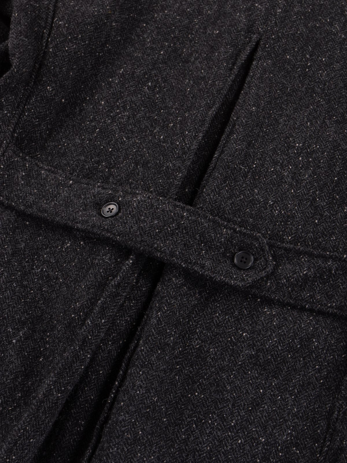 Charcoal HB Tweed Grim Jacket - Image 10