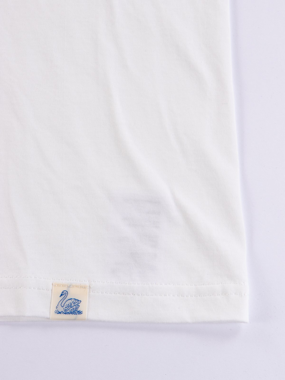 White Good Basics CTP01 Pocket Crew Neck Tee - Image 5
