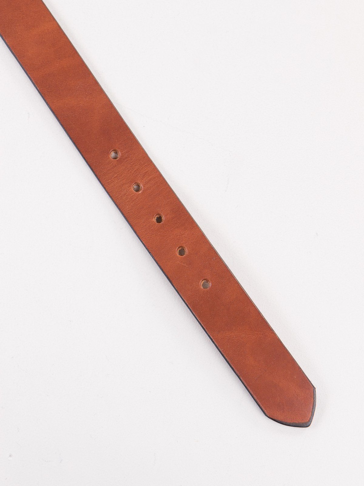Buck Brown Stitched D–Ring Belt - Image 3
