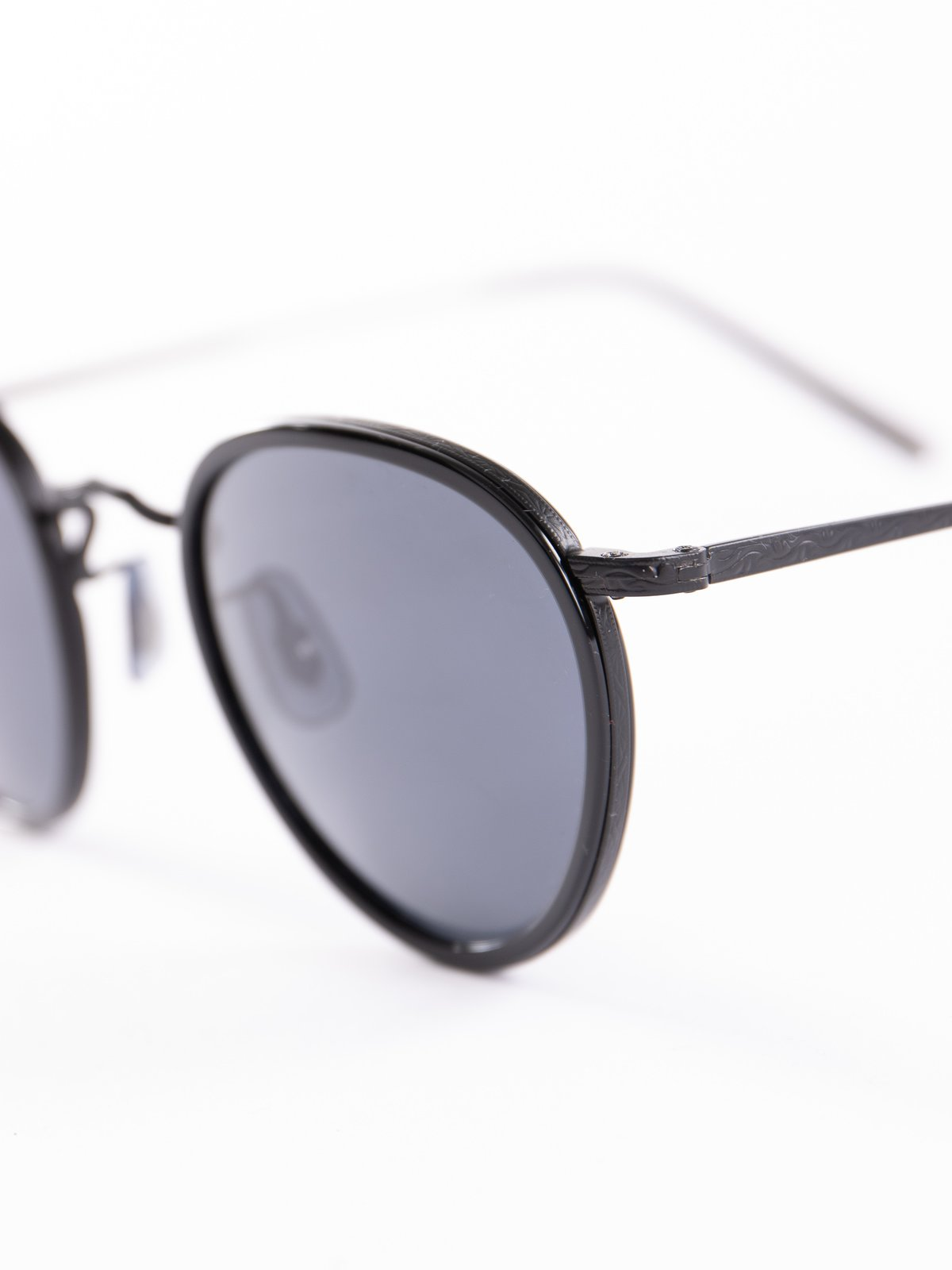 Black–Matte Black/Blue MP–2 Sunglasses - Image 3