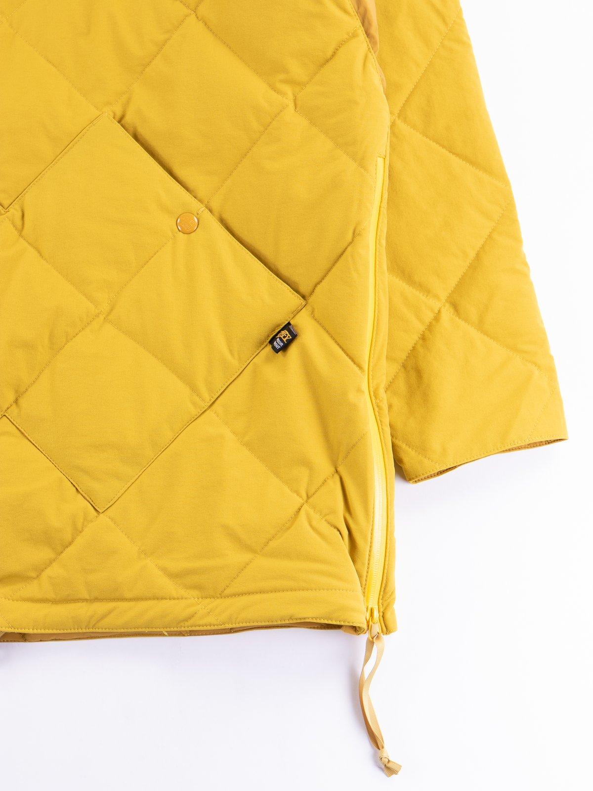 Mustard Flex Down Hoodie - Image 4