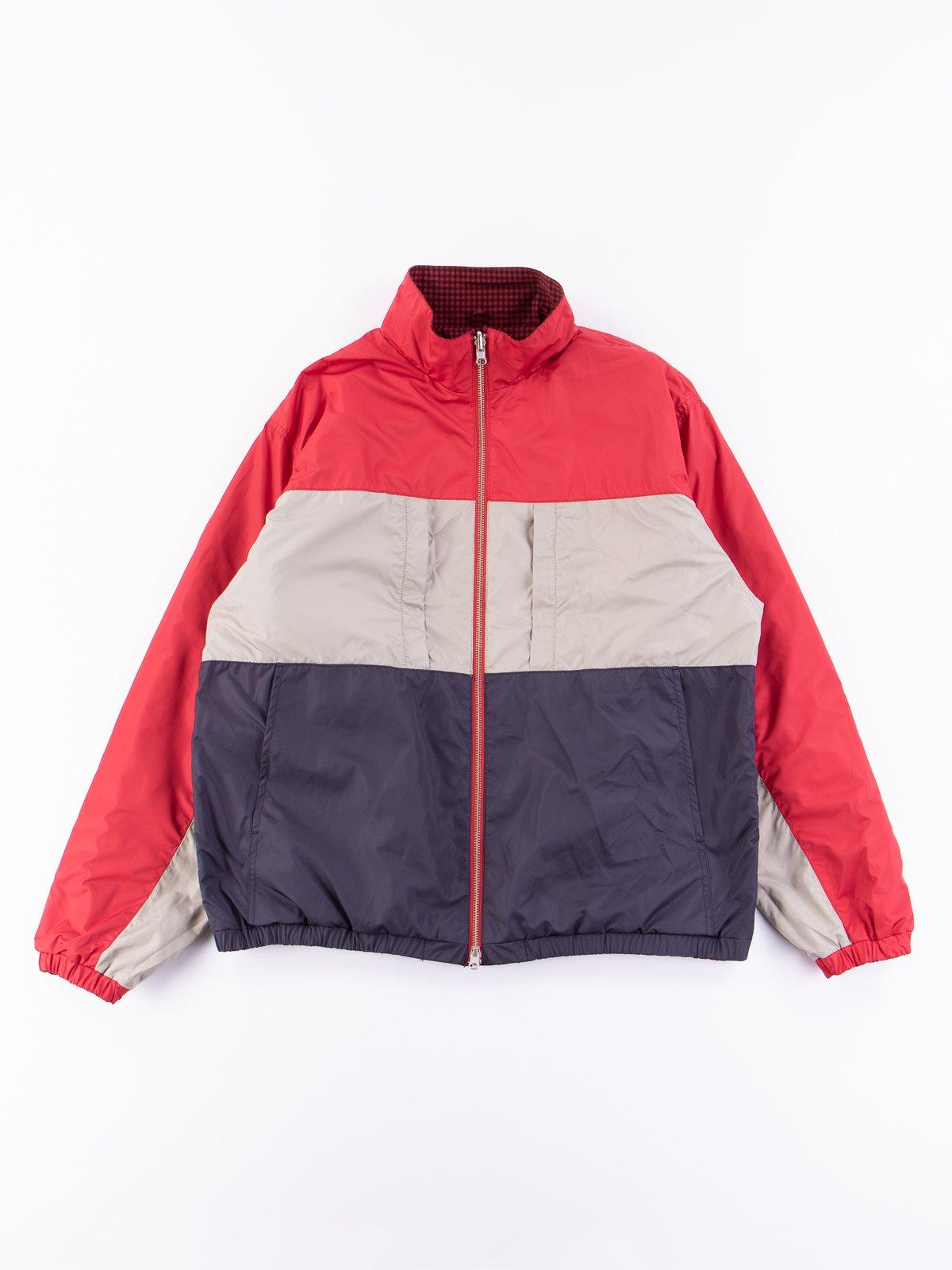 Red Gingham Reversible Jacket - Image 6