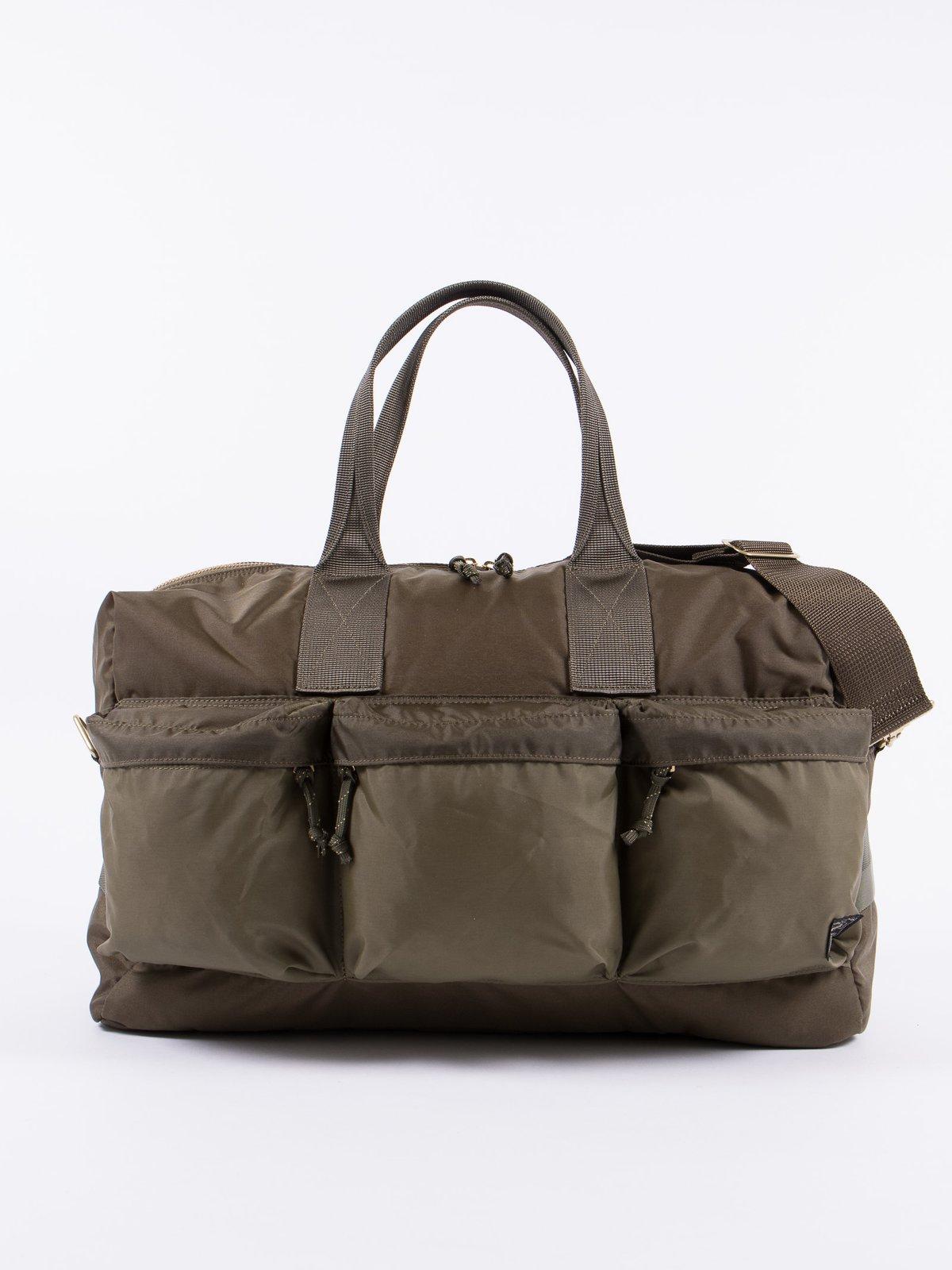 42f10fbcd5 Olive Force 2Way Duffle Bag by Porter – Yoshida   Co Ltd – The ...