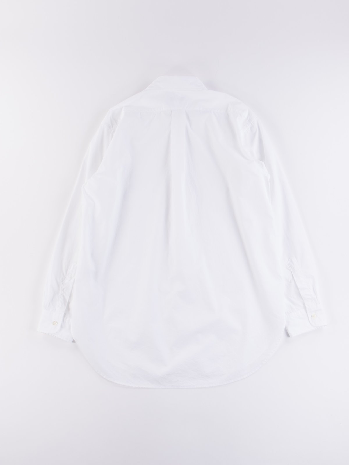 White 100's 2Ply Broadcloth 19th Century BD Shirt - Image 6