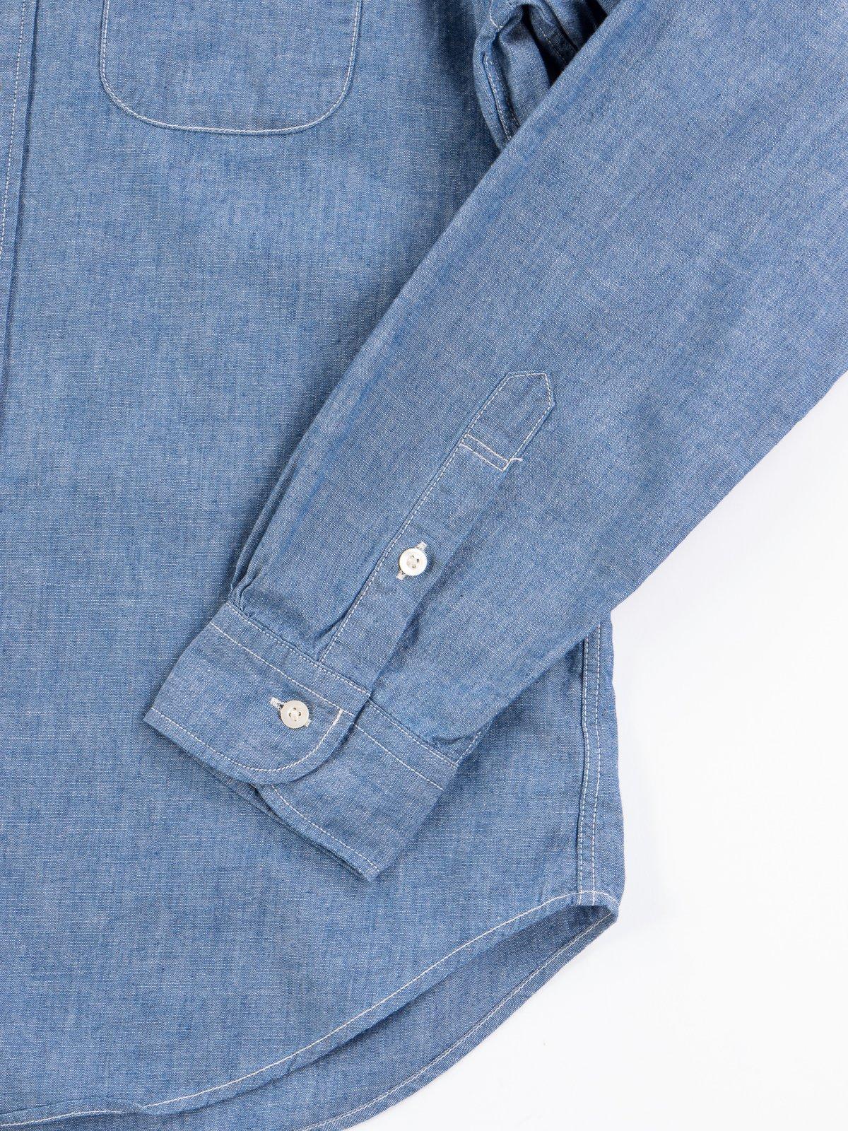 Blue Chambray BD Shirt - Image 4