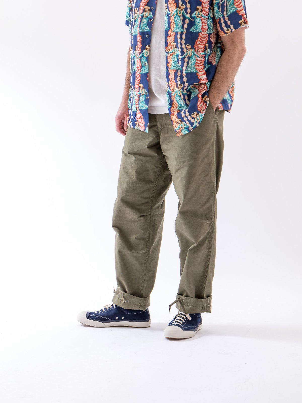 Army Green Ripstop TBB Service Pant - Image 2