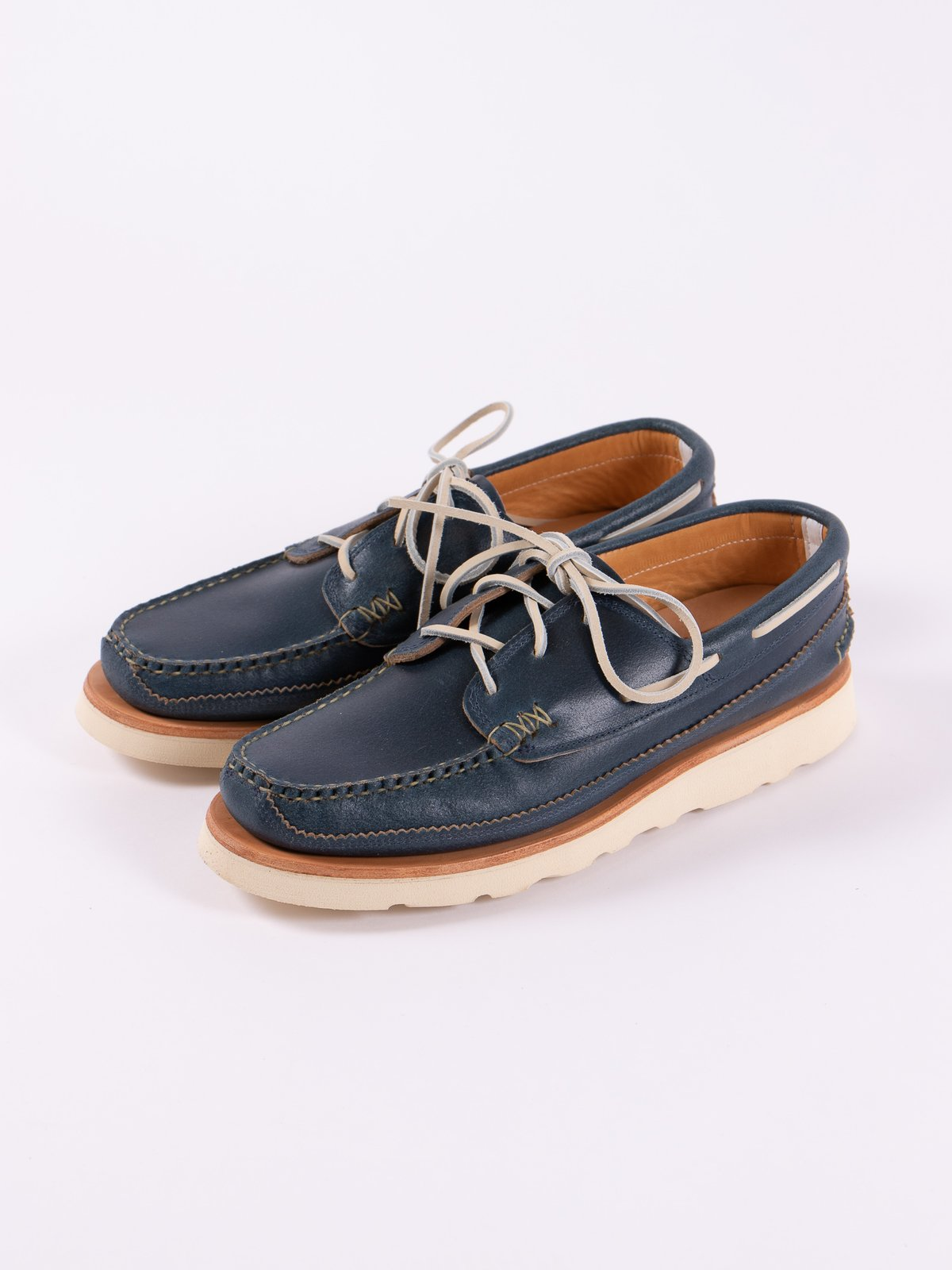 Wax Blue Boat Shoe Exclusive - Image 2