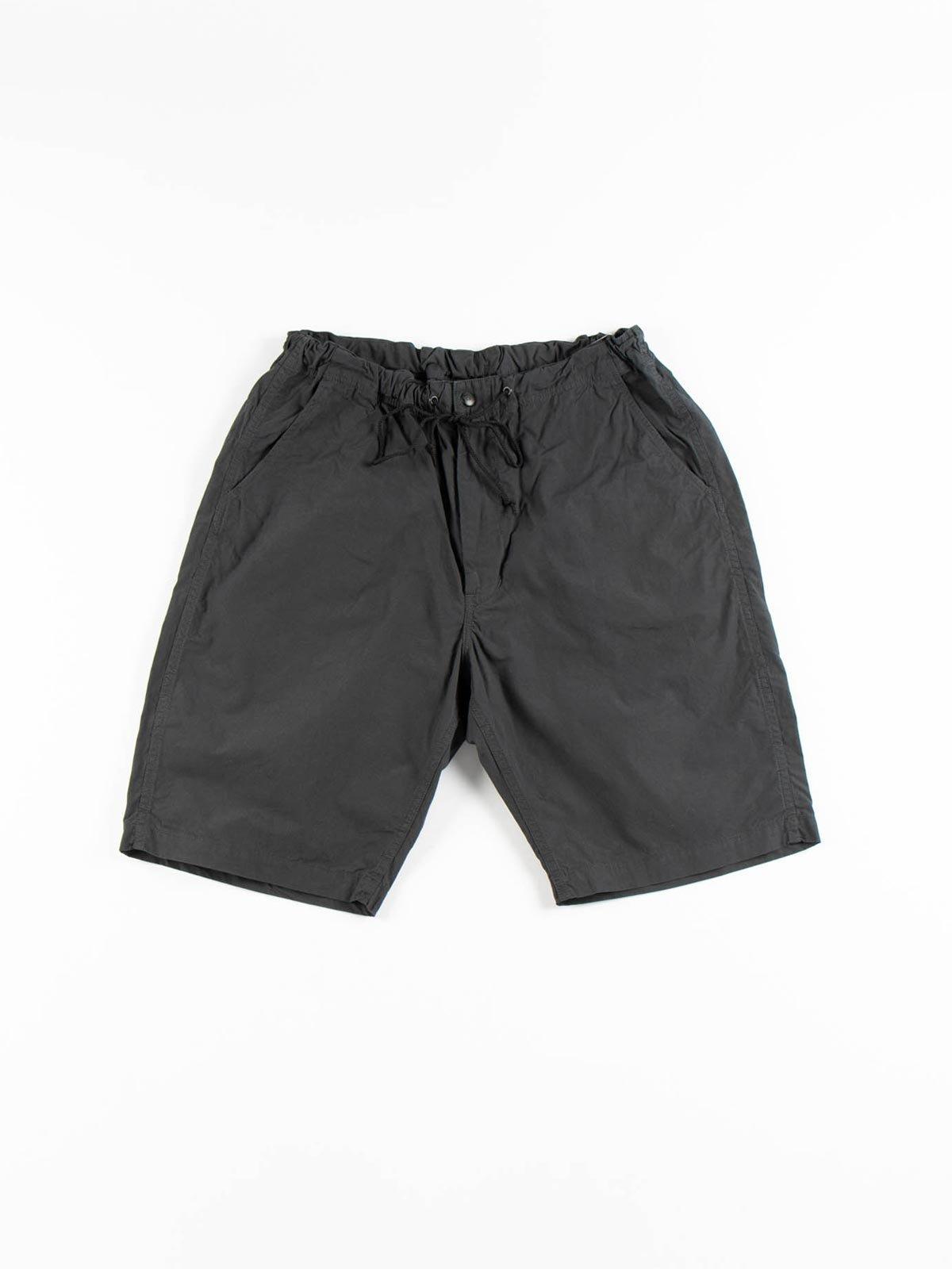 NEW YORKER SHORTS GRAY COTTON TYPEWRITER CLOTH - Image 1