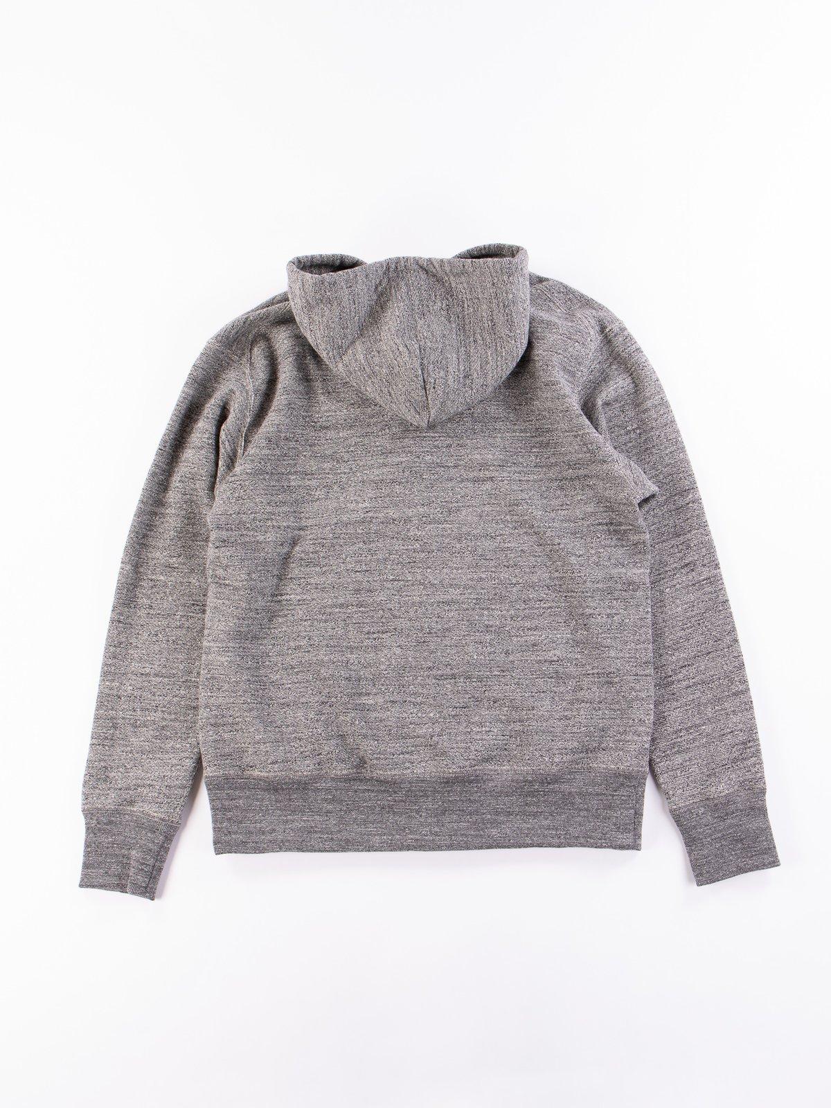 Charcoal GG Full Zip Sweatshirt - Image 6