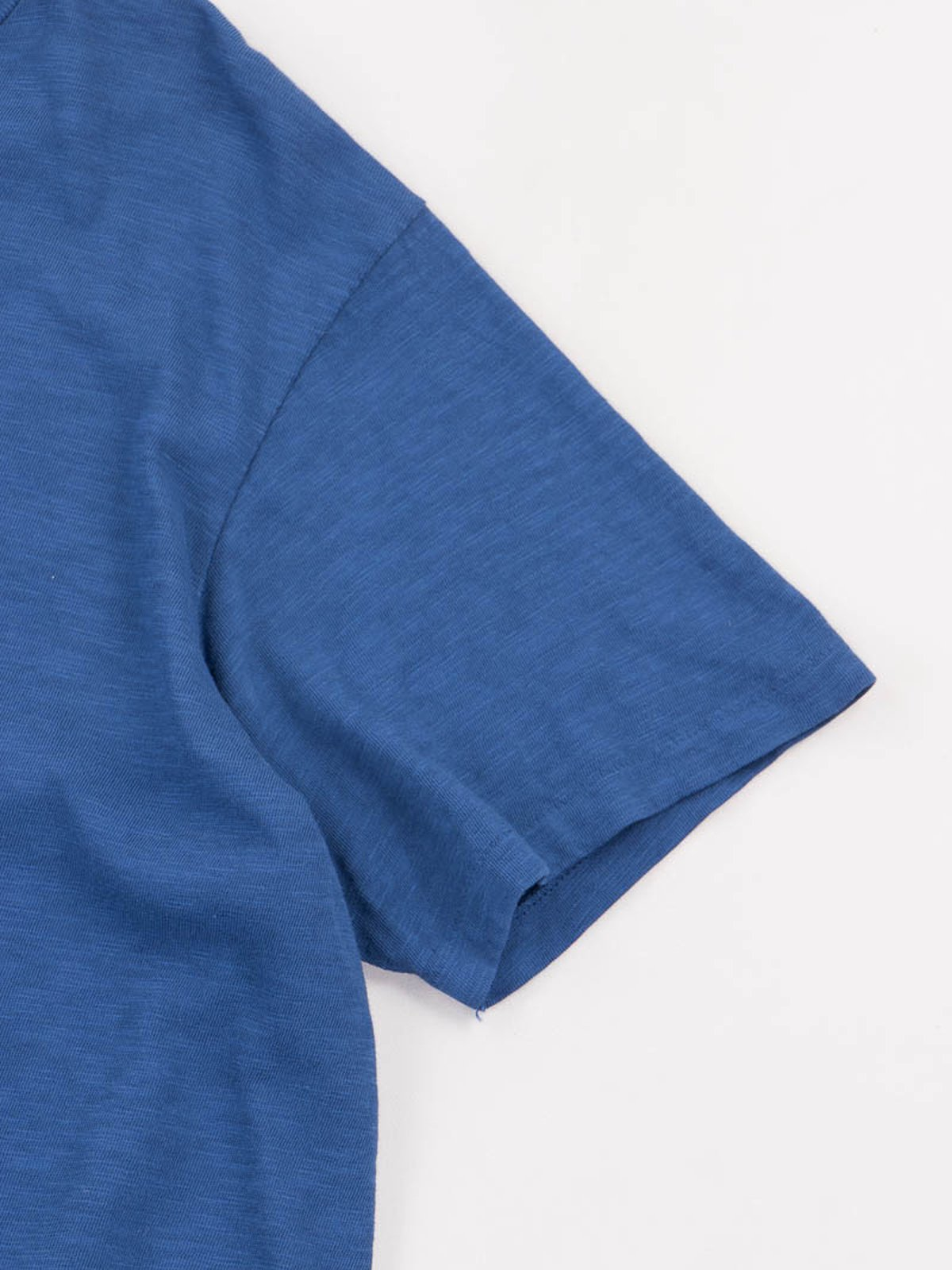 Blue Rolled Regular Tee - Image 4