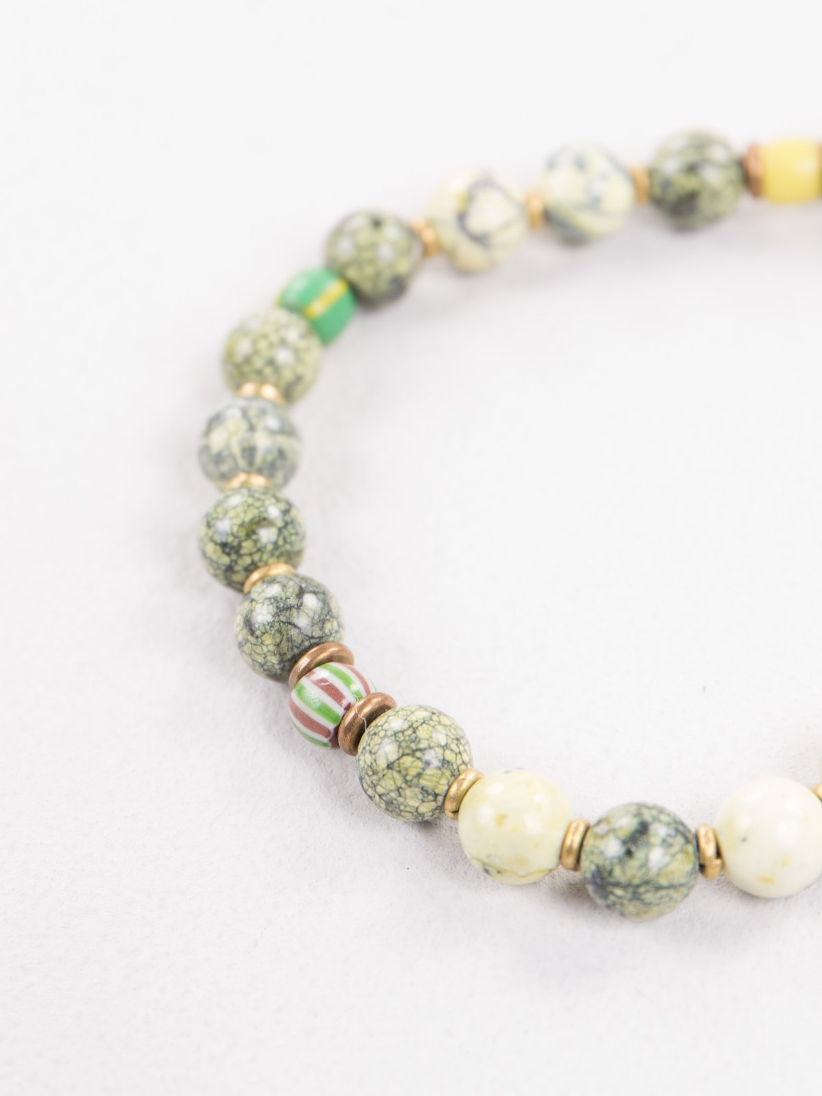 Yellow/Green 8mm Bracelet - Image 2