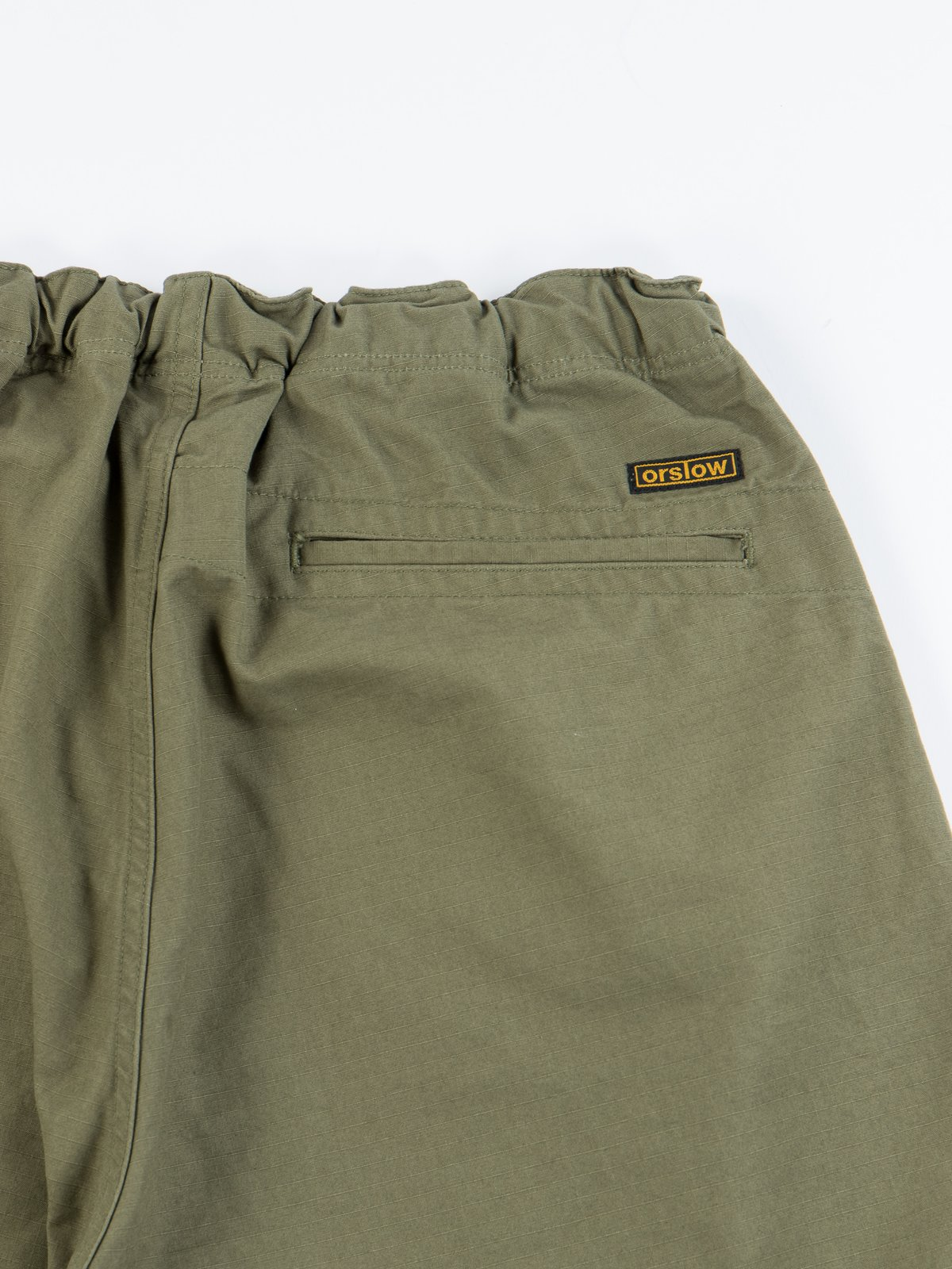 Army Green Ripstop New Yorker Short - Image 5