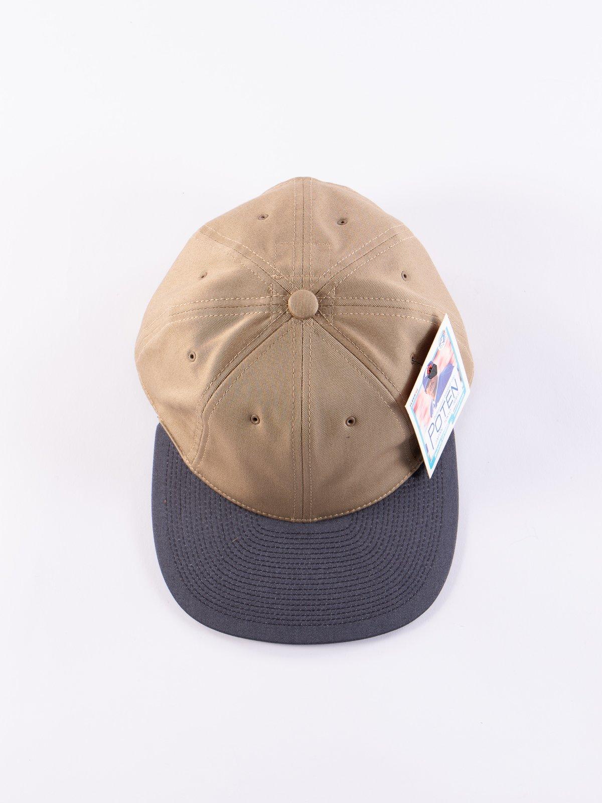 Beige/Black Chino Cap - Image 3