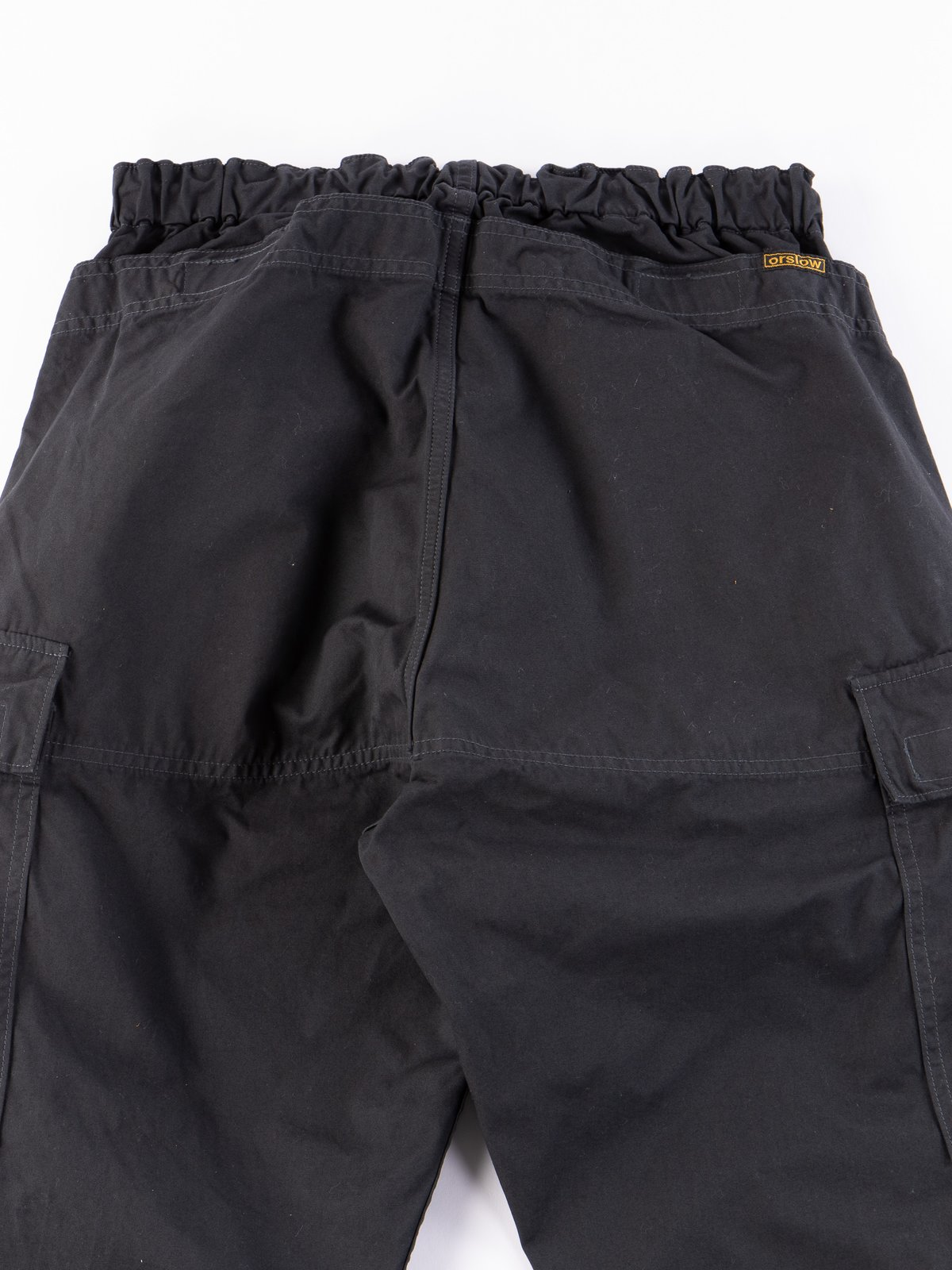 Grey Weather Cloth Easy Cargo Pant - Image 10