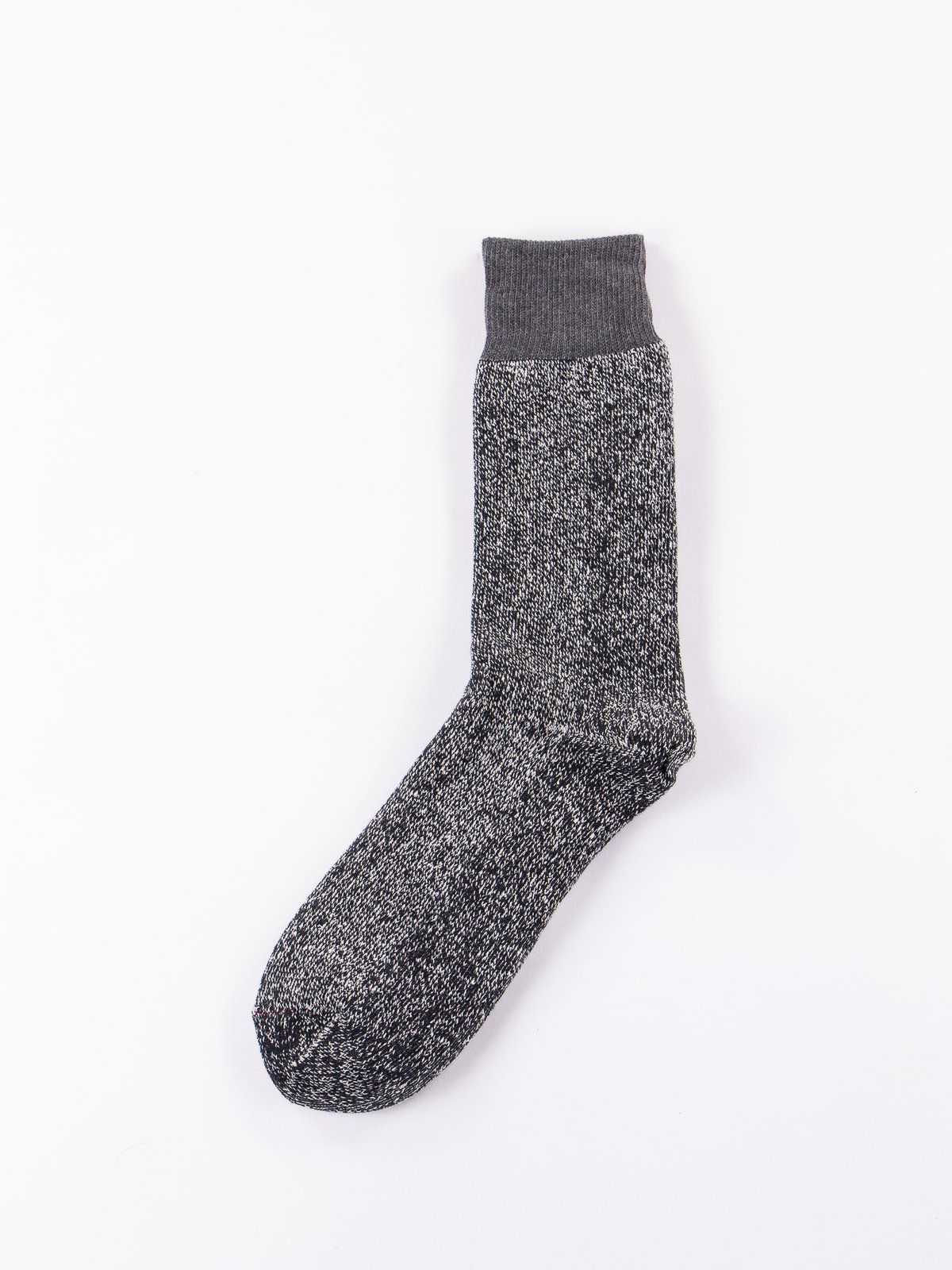 Dark Grey/Black Double Face Socks - Image 1