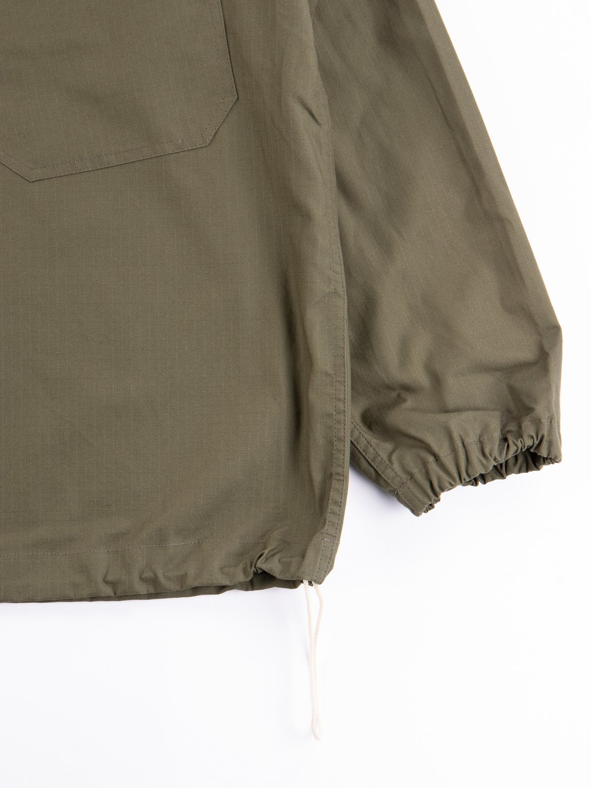 Olive Army Ripstop Salvage Parka - Image 5