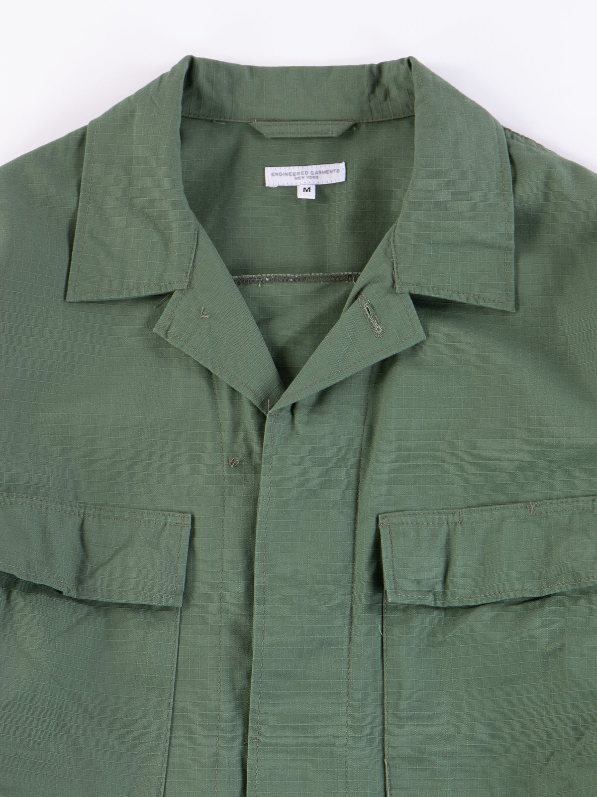 Olive Cotton Ripstop BDU Jacket - Image 3