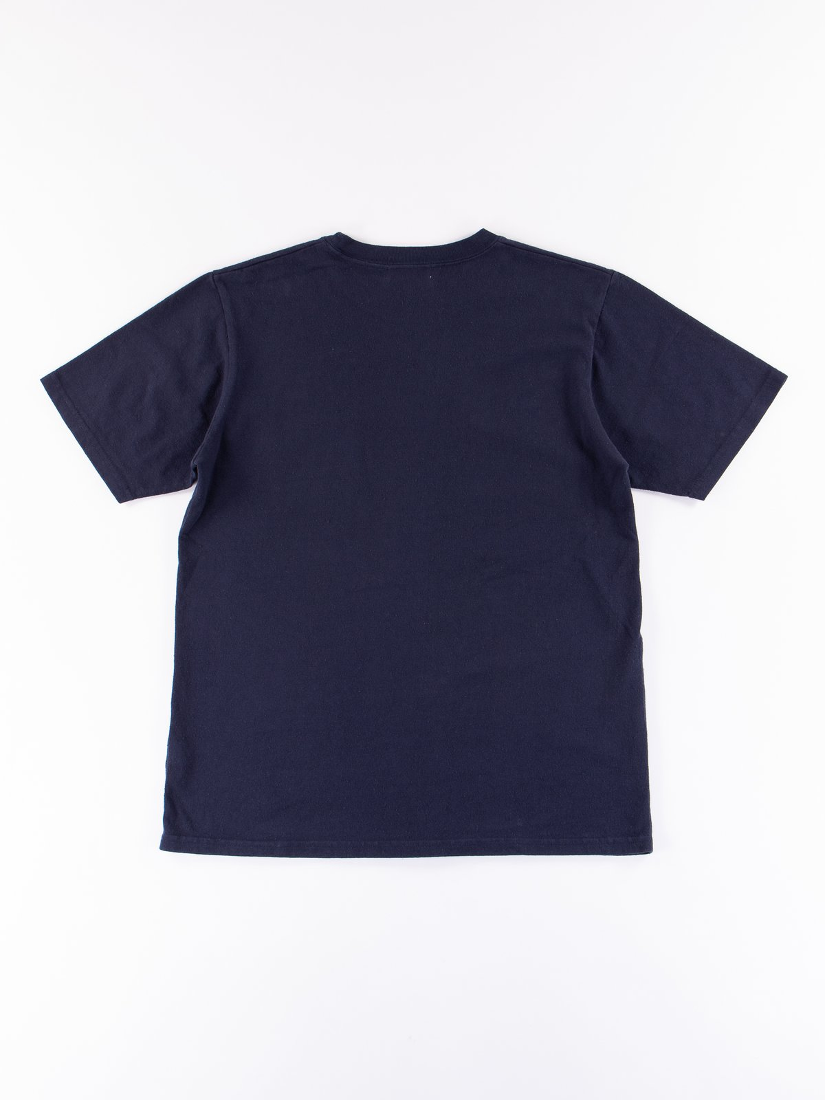 Navy Heavy Oz Pocket Tee - Image 5