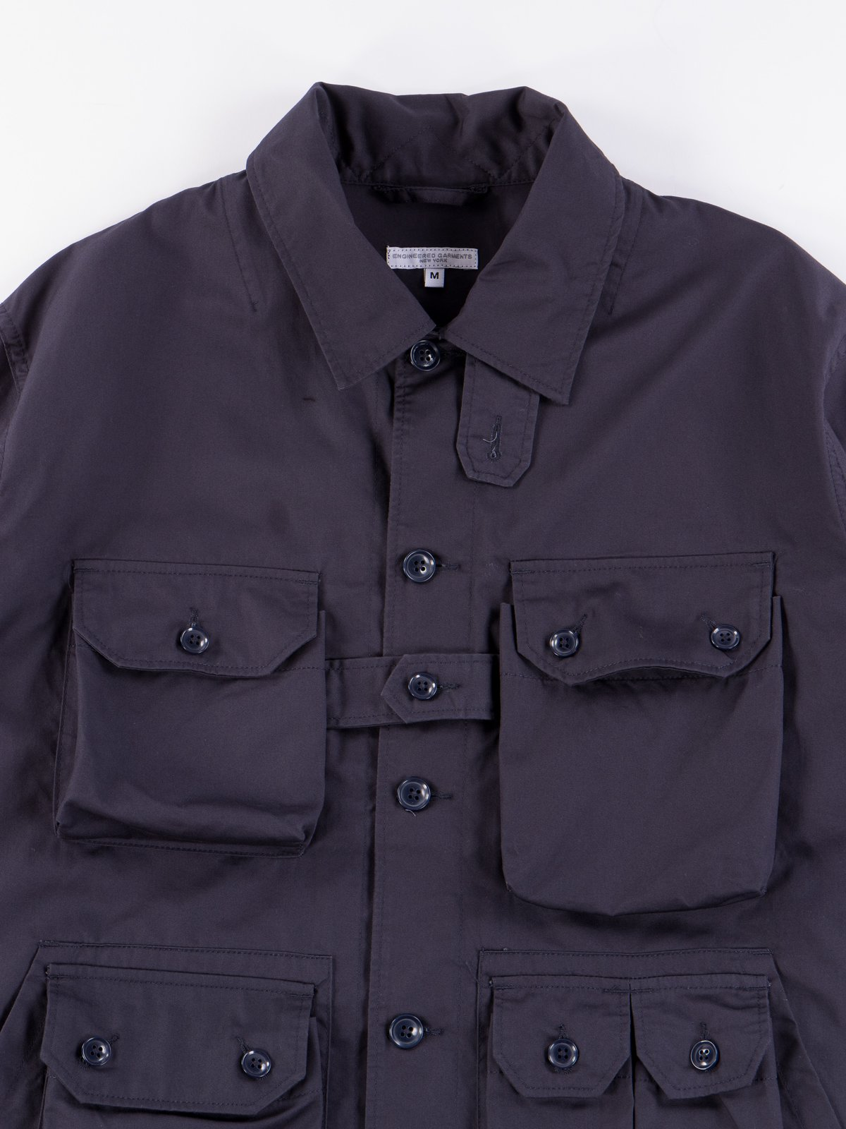 Dark Navy Highcount Twill Explorer Shirt Jacket - Image 4