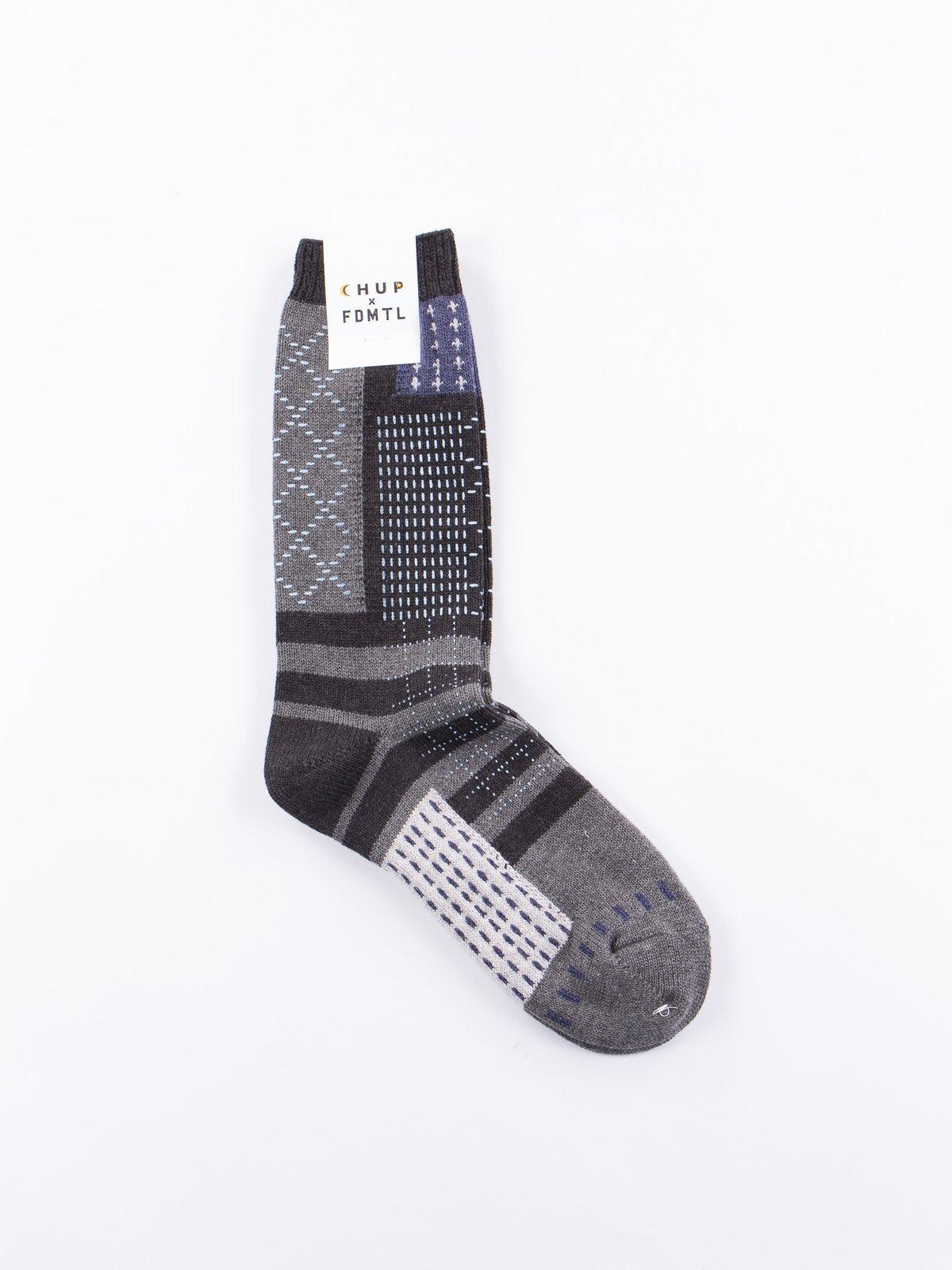 FDMTL Black Socks - Image 1