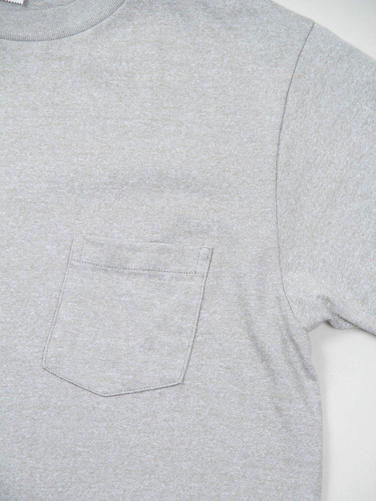 Heather Grey 1–Pac Pocket Tee - Image 4