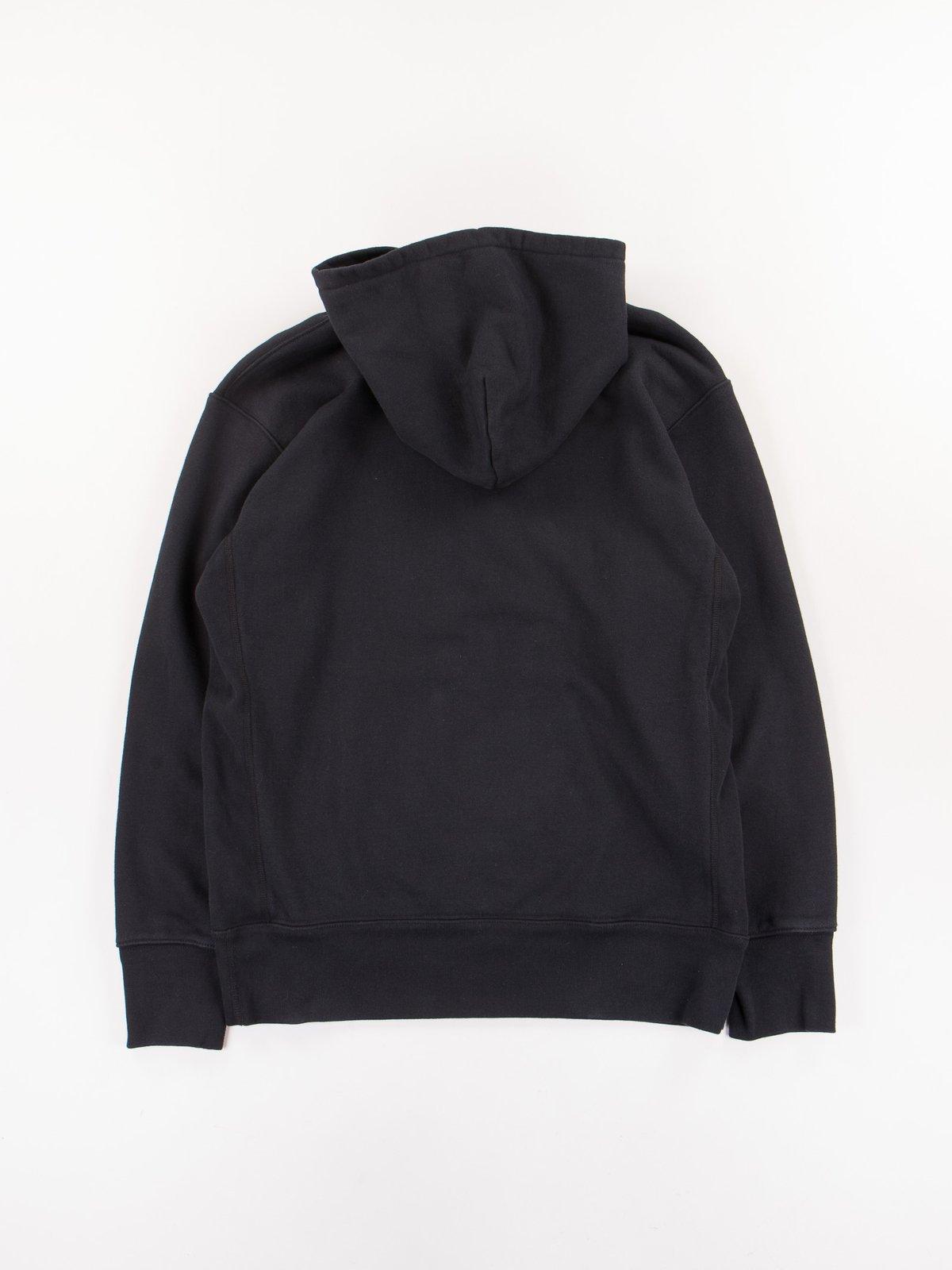 Black Gusset Pullover Parka - Image 7