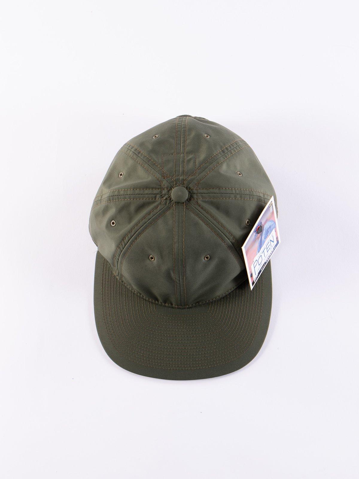 Olive Waterproof Cap - Image 3