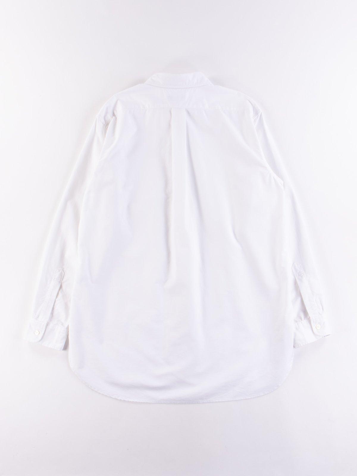 White Cotton Oxford 19th Century BD Shirt - Image 5