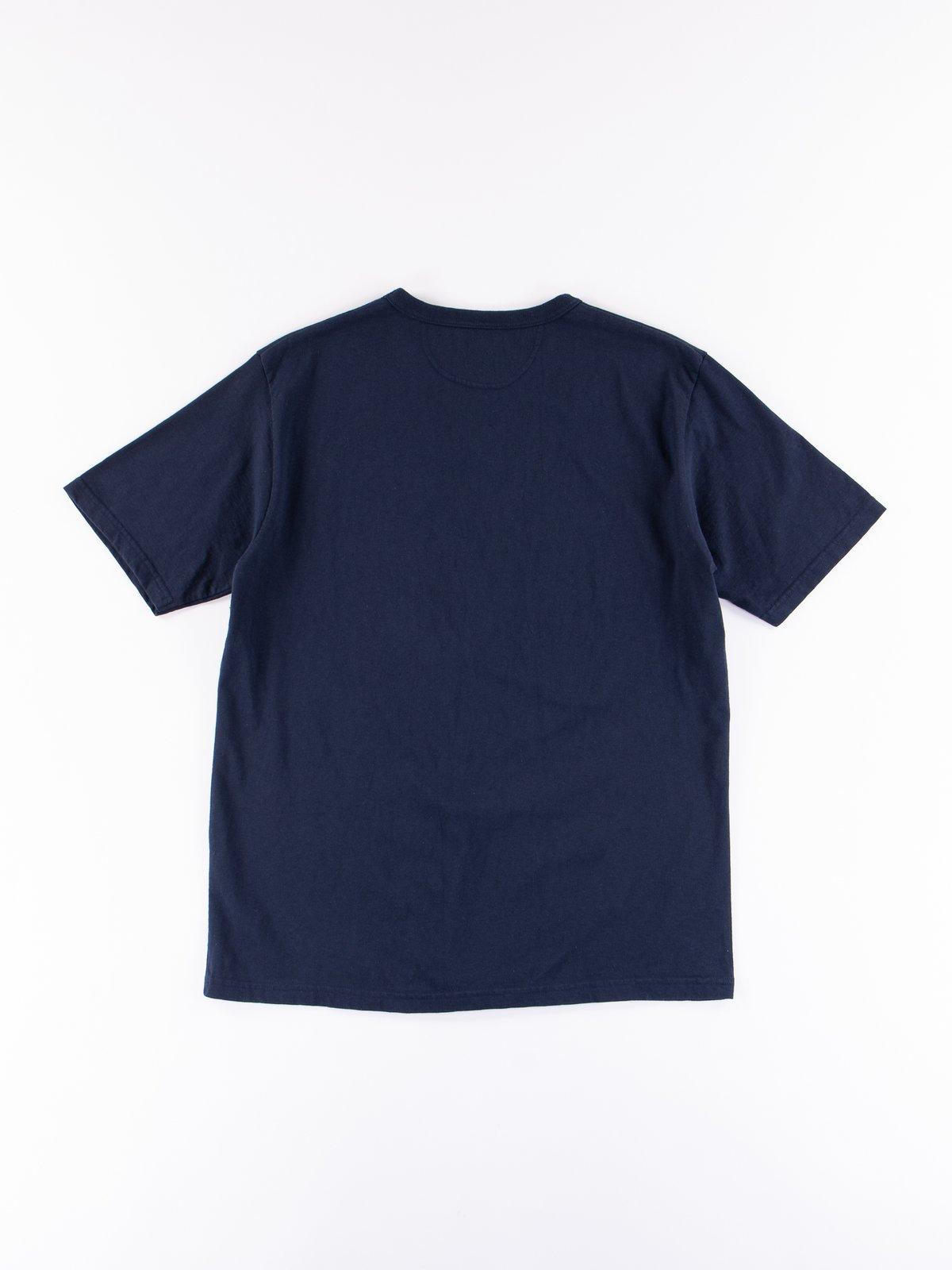 Navy Stripe Cote D'Ivoire Cotton T–Shirt - Image 5