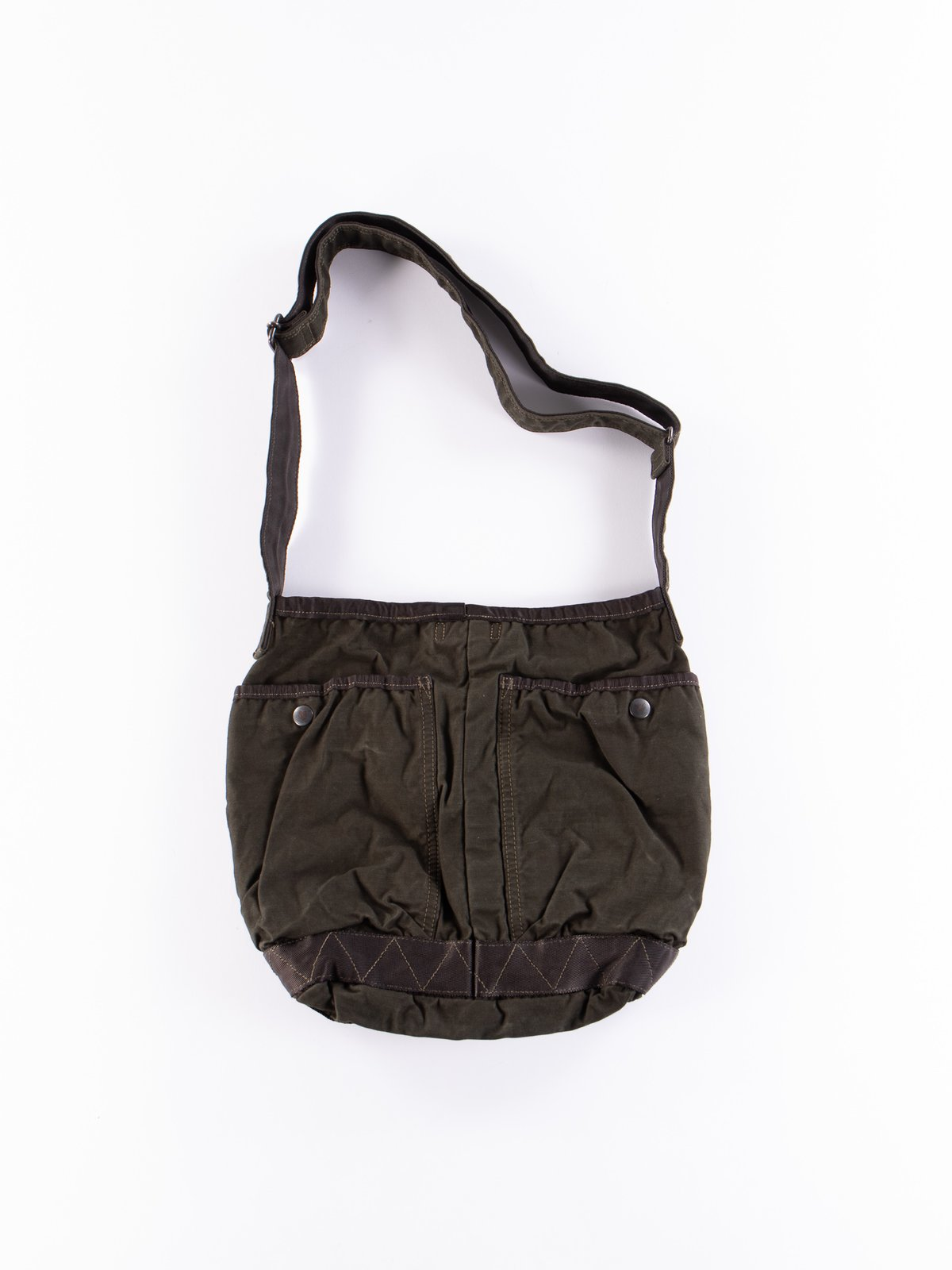 Khaki Crag Shoulder Bag Small - Image 2