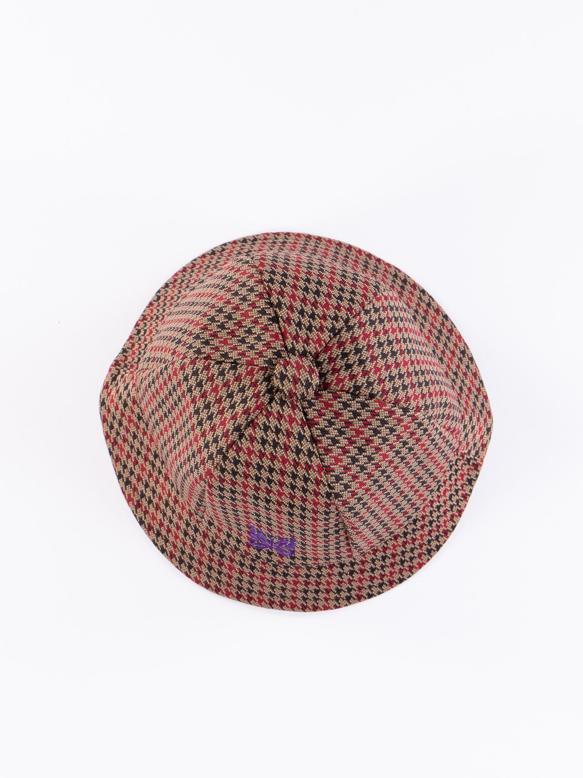 Houndstooth Poly Jacquard Bermuda Hat - Image 4