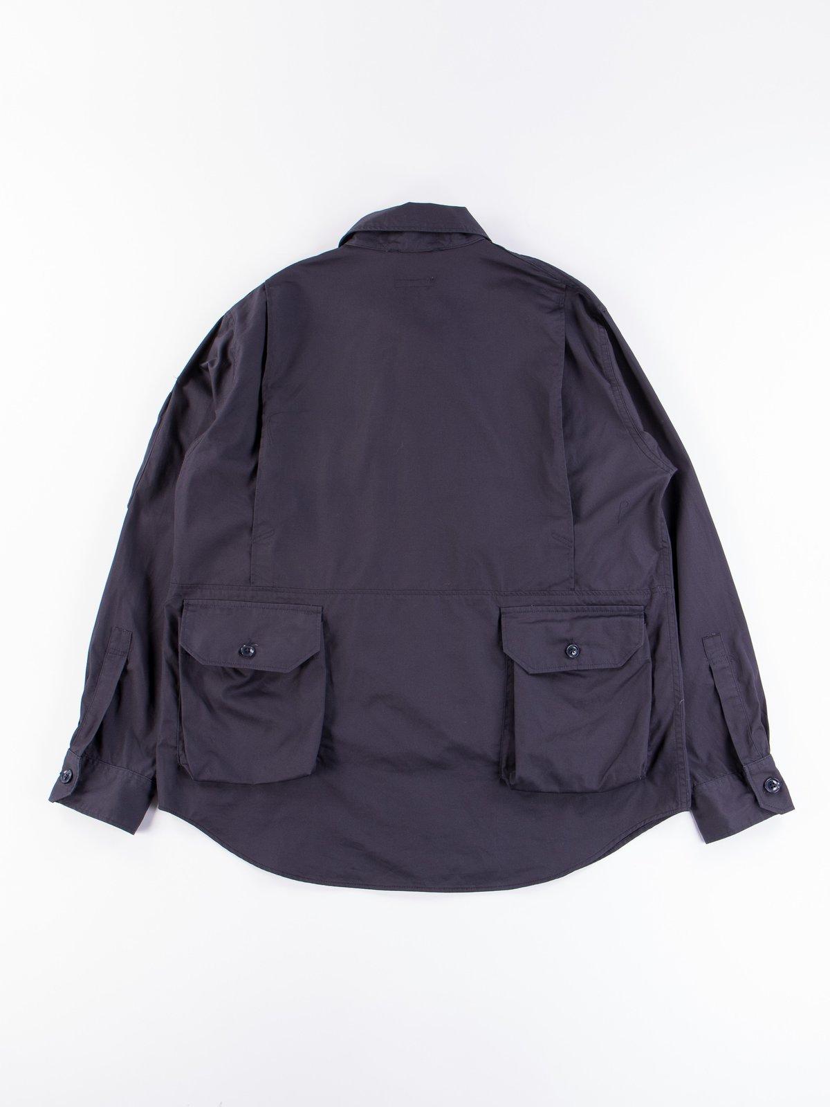 Dark Navy Highcount Twill Explorer Shirt Jacket - Image 7
