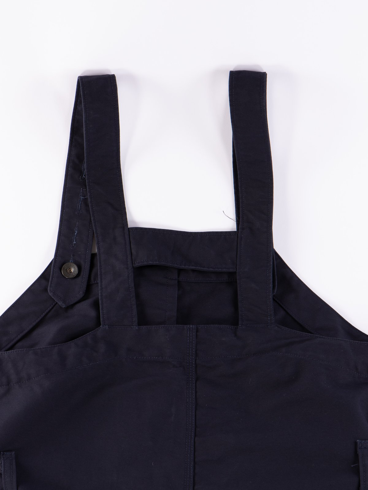 Navy Cotton Double Cloth Waders - Image 7