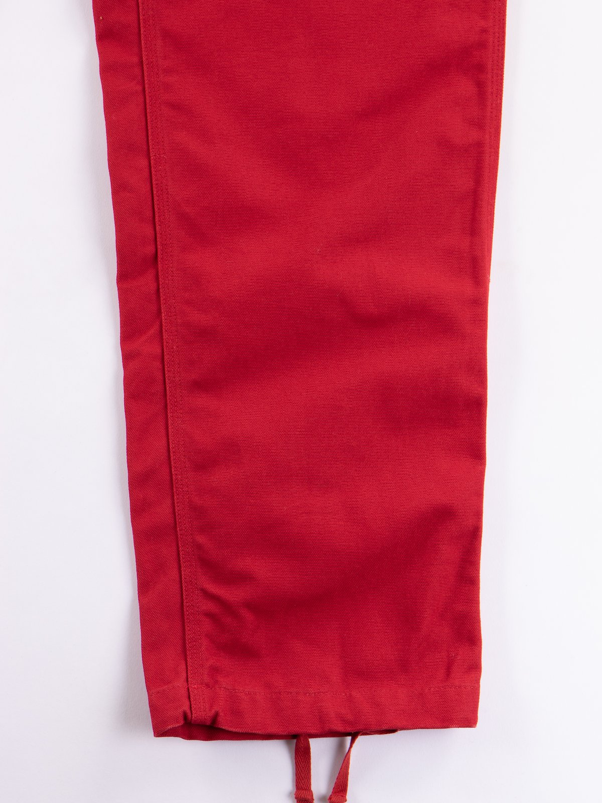 Red 12oz Duck Canvas Logger Pant - Image 4