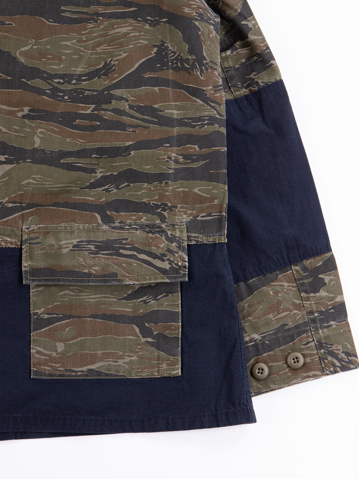 Reworks Camo/Navy Field Jacket - Image 7