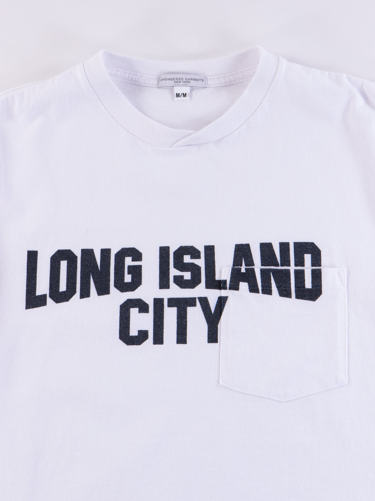White Long Island City Printed T–Shirt - Image 3