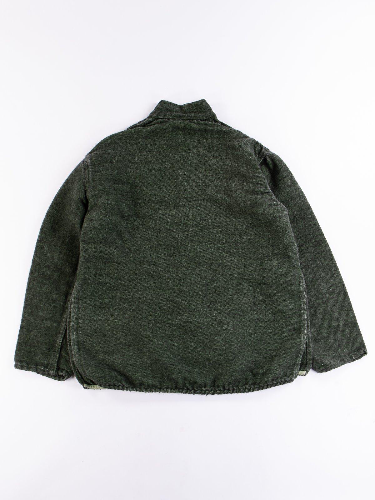 Viridian/Black Cotton/Mohair Janus Jacket - Image 6