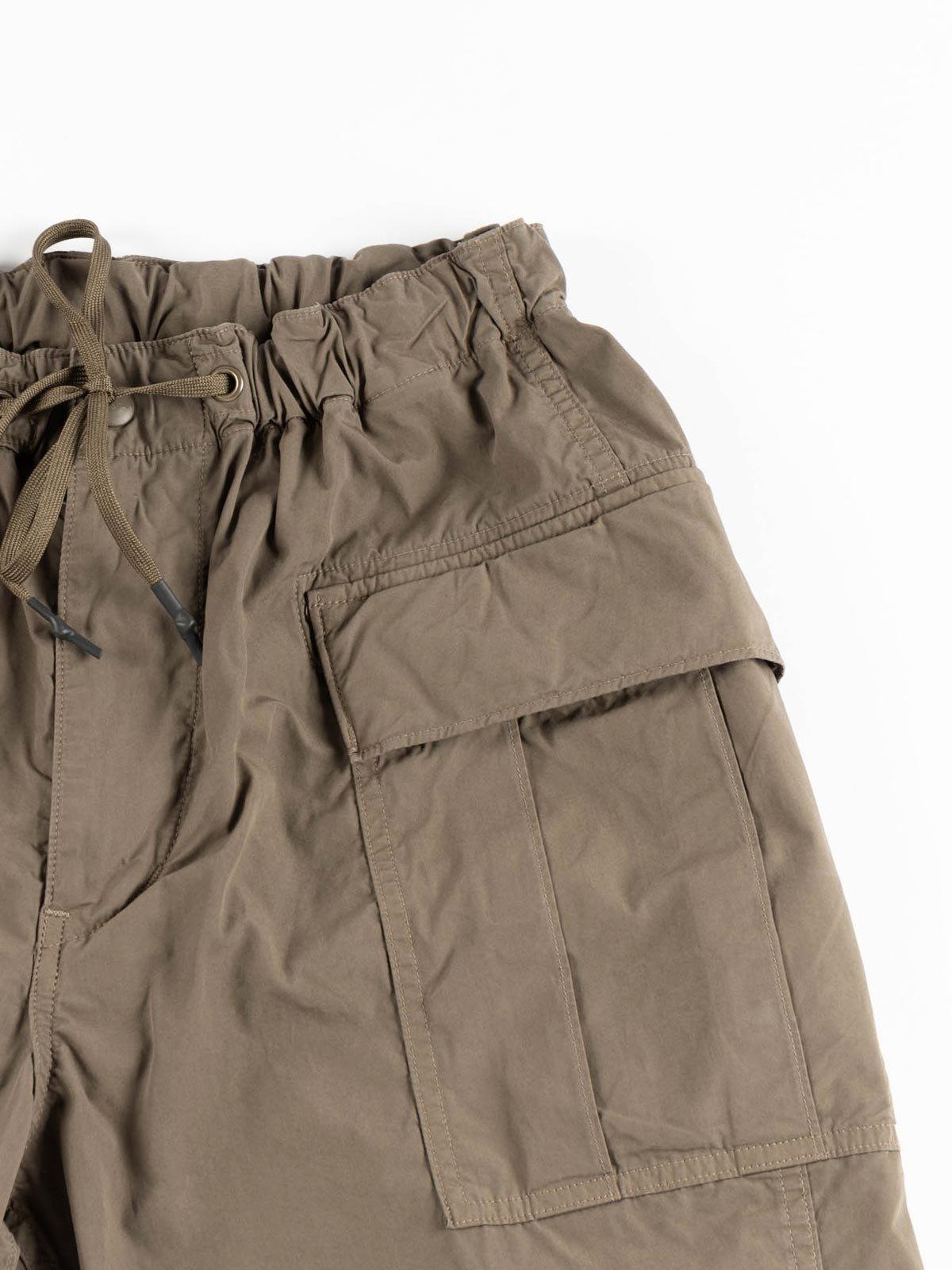EASY CARGO SHORTS GREIGE TYPEWRITER CLOTH - Image 3